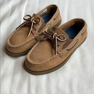 Sperry Boys Slip On Boat Shoes, Size 10.5 youth